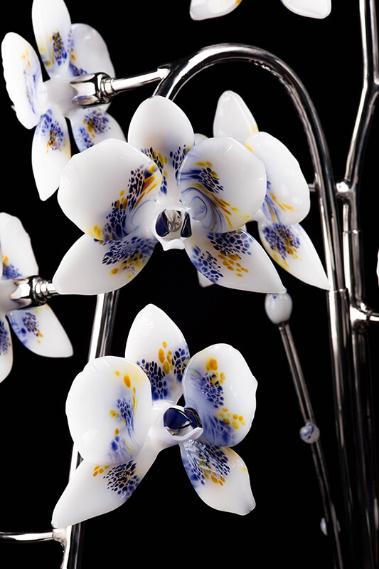 Orchidée de verre - Mad Verrerie D'Art | Frédéric Demoisson
