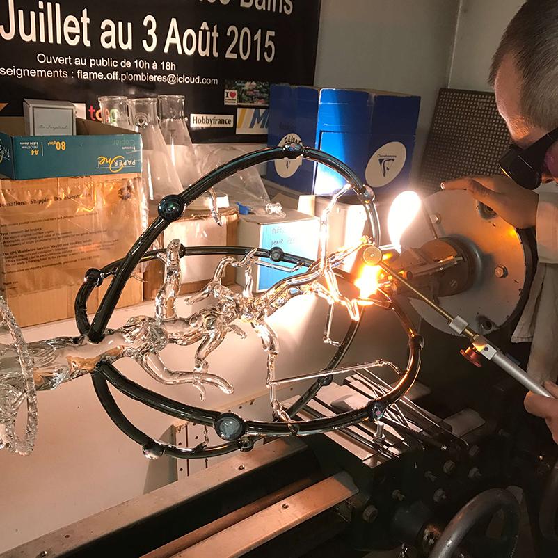 Préparation MOF - Mad Verrerie D'Art | Frédéric Demoisson