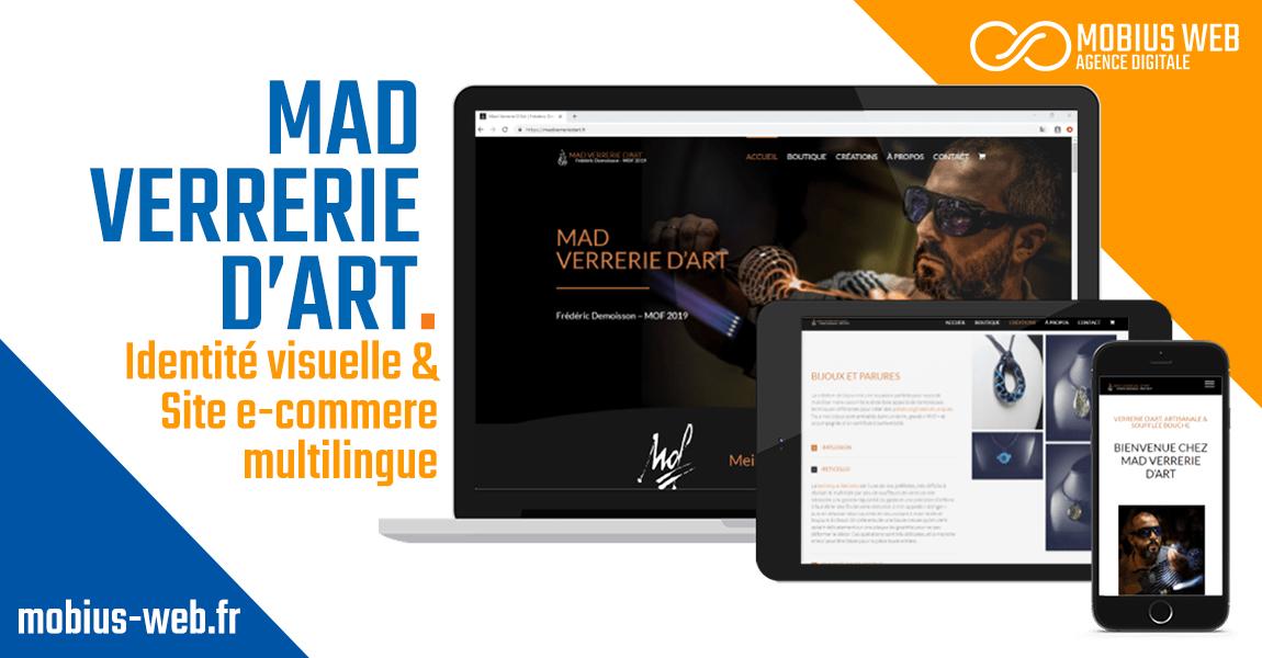 Mobius Web - Projet Mad Verrerie d'Art